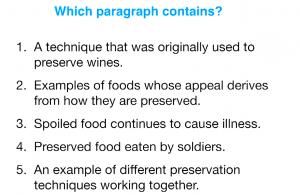 ریدینگ آیلتس (Which paragraph contains?)